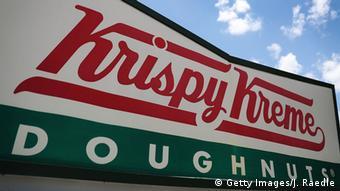 USA Miami Krispy Kreme Donuts LOGO