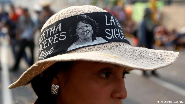 Honduras Proteste und Ausschreitungen Mord an Berta Caceres