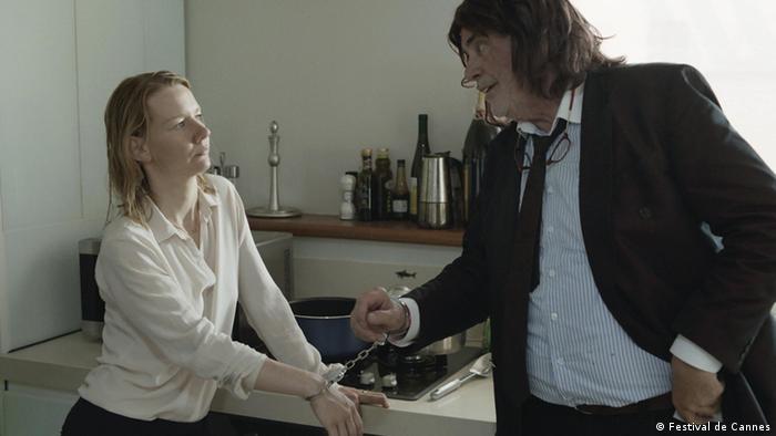 Filmszene aus dem Film 'Toni Erdmann' von Maren Ade (Foto: Filmfestival Cannes2016)