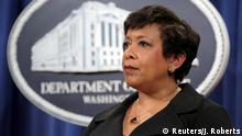 USA Attorney General Loretta Lynch