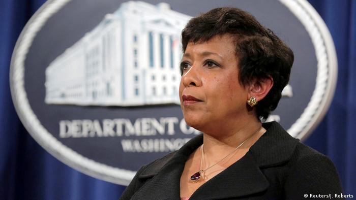 USA Attorney General Loretta Lynch