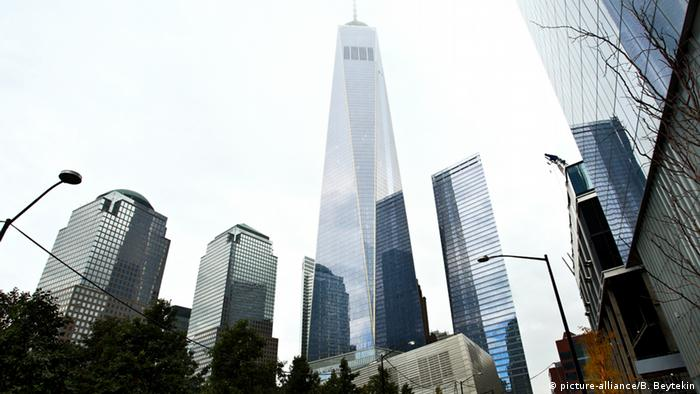 Buildings at Ground Zero by architect Daniel Libeskind.