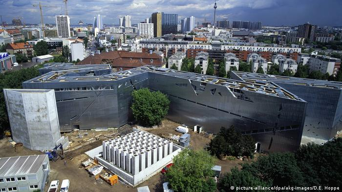 Aerial view of the Jewish Museum Berlin, Copyright: picture-alliance/dpa/akg-images/D.E. Hoppe
