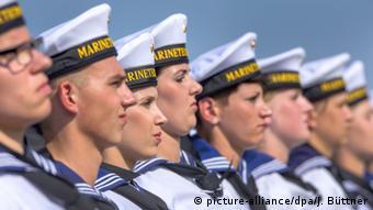 Deutschland Bundeswehr Rekruten in Parow bei Stralsund