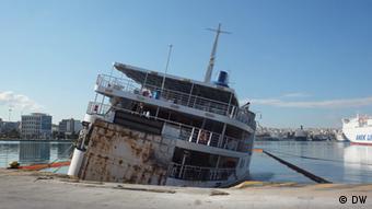 Conflict Zone Rostiges Schiff Nikos Pappas bei Michel Friedman