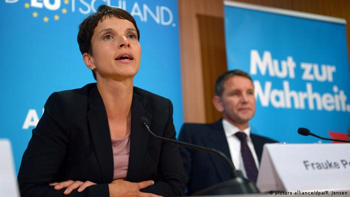 Frauke Petry and Björn Höcke (picture-alliance/dpa/R. Jensen)