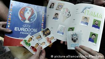 UEFA Euro2016 Fußball Panini Sammelalbum