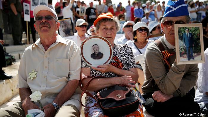 Israelis am Tag des Sieges (Foto: REUTERS/Amir Cohen )