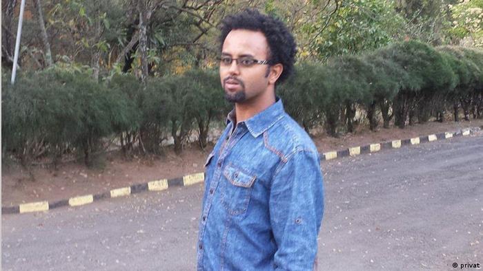 """Muluken Tesfaw – Chefredakteur von """"Yekelem Qend"""""""