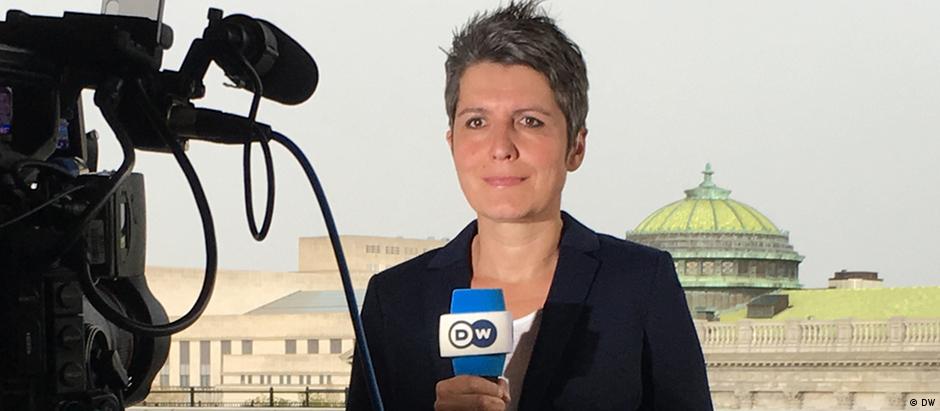 Ines Pohl é correspondente da DW nos EUA