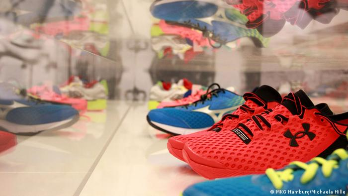 Ausstellung Sneaker. Design für schnelle Füße (Foto: MKG Hamburg, Michaela Hille)