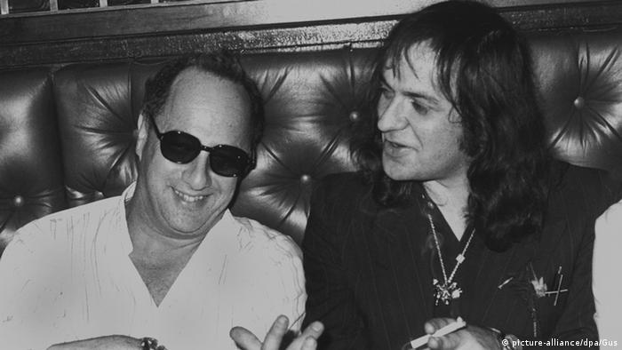 Singer Udo Lindenberg and director Peter Zadek