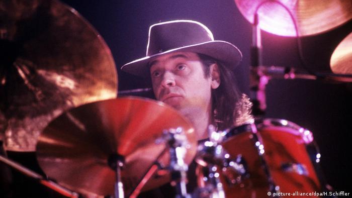 Udo Lindenberg at the drums