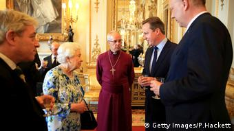 Königin Elizabeth II David Cameron Chris Grayling Justin Welby