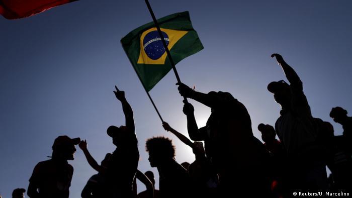 Protesto contra o impeachment de Dilma em maio de 2016: atual presidente tem sido preservado
