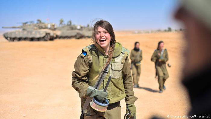Frauen in der israelischen Armee 2013
