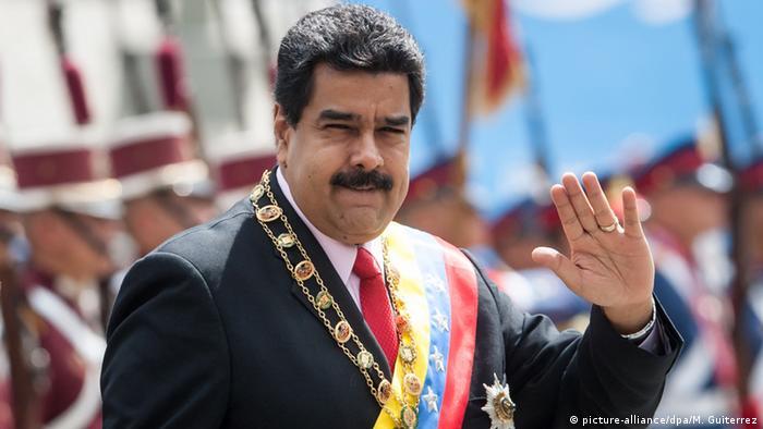 Venezuela Präsident Nicolas Maduro (picture-alliance/dpa/M. Guiterrez)