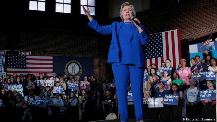 USA Wahlkampf Demokraten Kentucky - Hillary Clinton