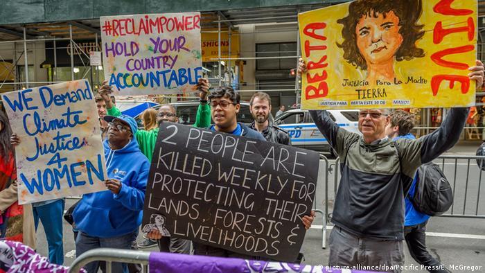 USA Honduras Protest Gerechtigkeit für Berta Caceres