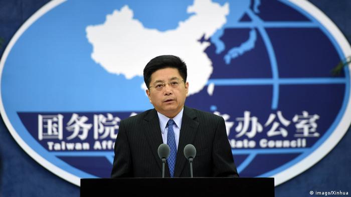 China jamás tolerará la secesión de Taiwán, declaró un responsable gubernamental chino a la agencia estatal Xinhua, en respuesta a las declaraciones de la presidenta taiwanesa Tsai Ing-wen, que pertenece a un partido independentista y es criticada por las autoridades comunistas. En la foto, el portavoz de la Oficina de Asuntos de Estado de Taiwán, Ma Xiaoguang. (20.05.2020).