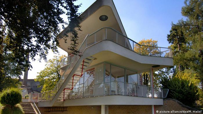 Deutschland Haus Schminke von Architekt Hans Scharoun