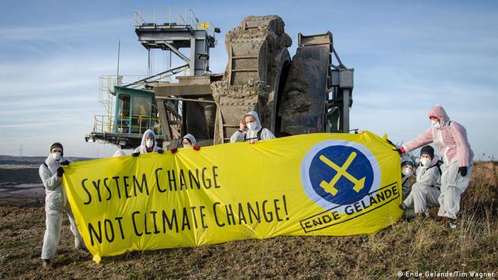 Ende Gelände Anti-Kohle-Bewegung Lausitz