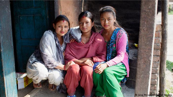 Nepal Kinderheirat Mädchen (Jane Mingay/Girls Not Brides)