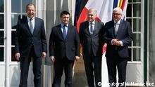 Deutschland Ukraine-Gespräche in der Villa Borsig