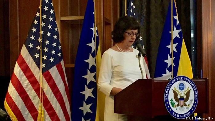 Bosnien US-Botschafterin Maureen Cormack (US Embassy BiH)