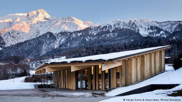 Mit dem Global Award for Sustainable Architecture ausgezeichnetes Bauprojekt des Architekten Kengo Kuma (Foto: Kengo Kuma & Associates, Michel Denance)