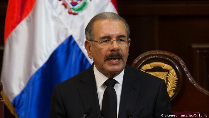 Dominikanische Republik Präsident Medina