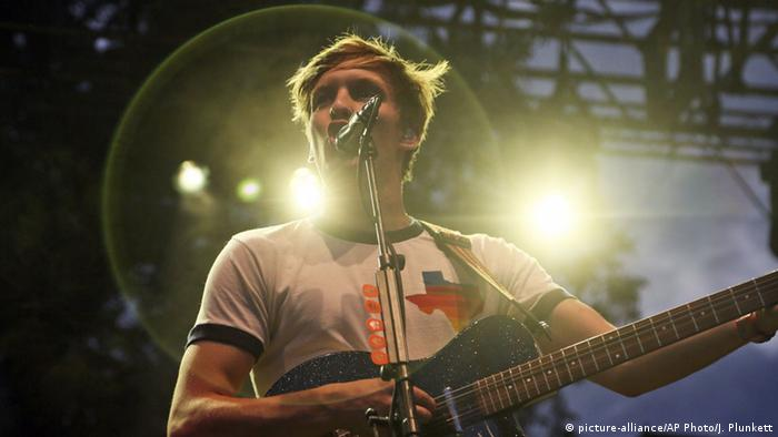 Musiker George Ezra, copyright: picture-alliance/AP Photo/J. Plunkett