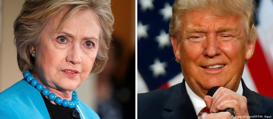 Hillary e Trump venceram as primárias de seus partidos, mas não ganharam simpatias