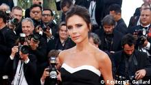 11.5.2016 *** Fashion designer, model and singer Victoria Beckham poses on the red carpet as she arrives for the opening ceremony and the screening of the film Cafe Society out of competition during the 69th Cannes Film Festival in Cannes Fashion designer, model and singer Victoria Beckham poses on the red carpet as she arrives for the opening ceremony and the screening of the film Cafe Society out of competition during the 69th Cannes Film Festival in Cannes, France, May 11, 2016. REUTERS/Eric Gaillard Copyright: Reuters/E. Gaillard