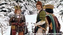 Сцена из сказки Три орешка для Золушки