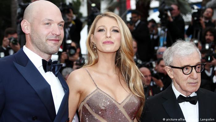 Woody Allen, Corey Stoll und Blake Lively, Foto: picture-alliance/dpa/I. Langsdon