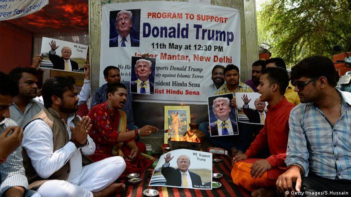 Will Hindu gods help Trump become US president? | News | DW | 11 05 2016