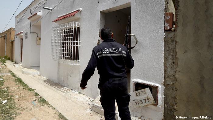 Tunesien Razzia Islamisten Polizei