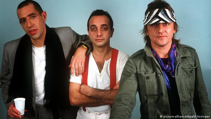 Die Band Trio (von l.): Stefan Remmler, Peter Behrens, Gert Krawinkel (Archivfoto: dpa)