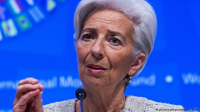 Директорка-розпорядниця МВФ Крістін Лагард