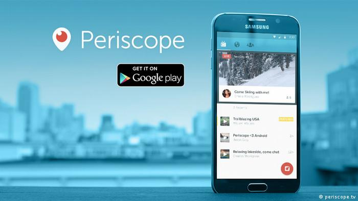 Periscope App - Pressebild (periscope.tv)