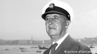O Iσπανός δικτάτορας Φρανθίσκο Φράνκο