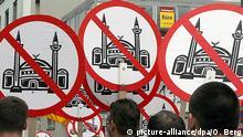 Deutschland Köln Rechtspopulisten Demo gegen Moscheen
