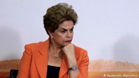 Brasilien Dilma Rousseff (Reuters/U. Marcelino)