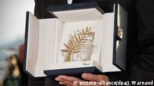 Cannes Film Festival Goldene Palme (picture-alliance/dpa/J. Warnand)