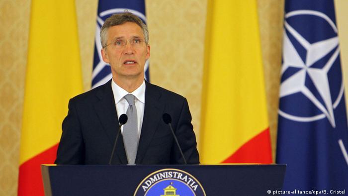 Secretarul general al NATO, Jens Stoltenberg, la București