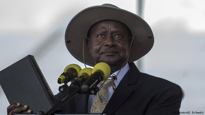 Uganda President Yoweri Museveni in Kampala