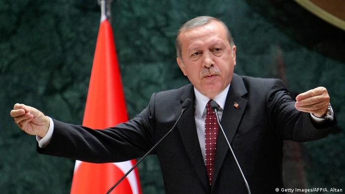 Der türkische Staatspräsident Recep Tayyip Erdogan (Foto: Getty Images/AFP/A. Altan)