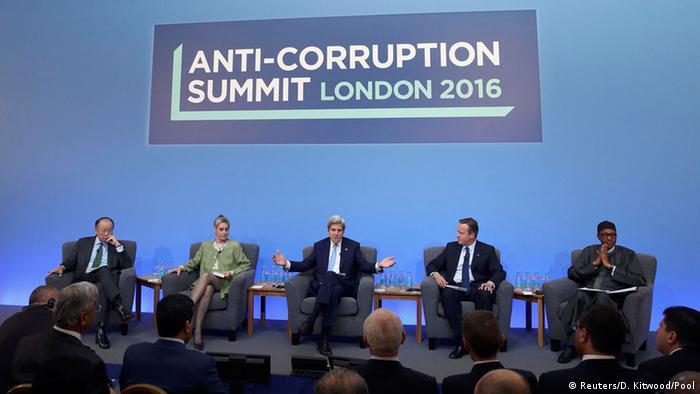 Großbritannien London Cameron Anti-Korruptions-Konferenz