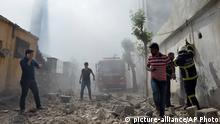 Türkei Kilis Zerstörungen nach Raktenangriff